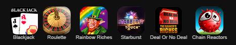 Ladbrokes Mobile Games