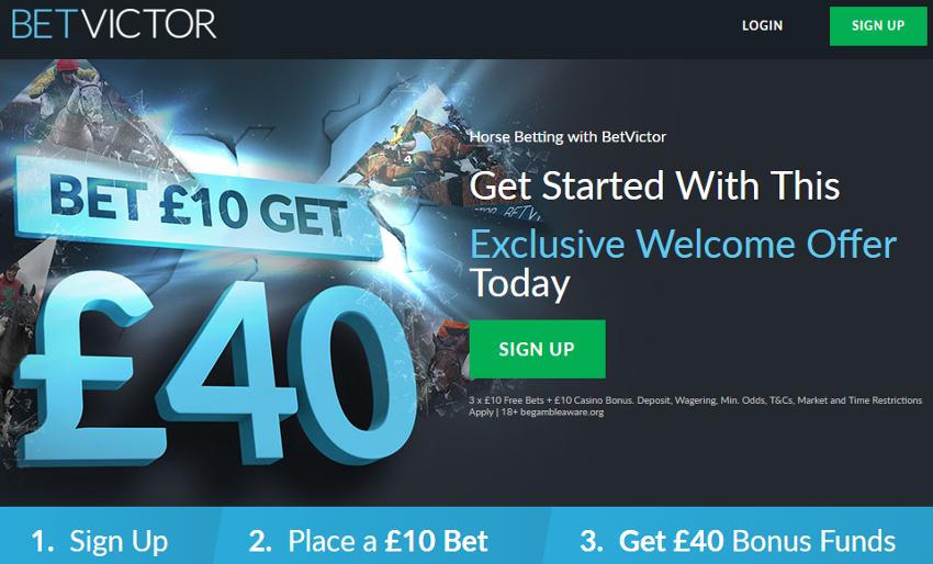 horse racing free bet