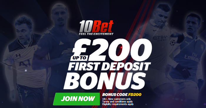 10bet bonus code