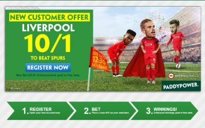 Paddy Power Premier League Weekend Price Boosts