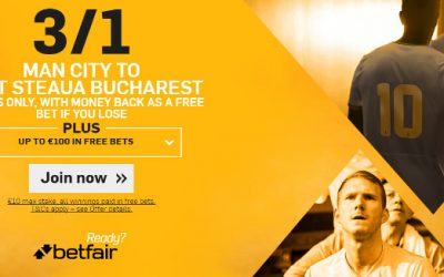 Champions League Play-Offs Sign Up Price Boosts Betfair