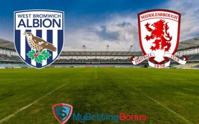 West Brom vs Middlesbrough Predictions 28/08/16 | Premier League