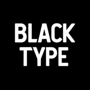 black type logo