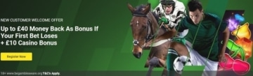 Unibet New Customer Welcome Offer