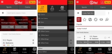 32Red Sports App