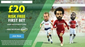 paddy power new customer offer