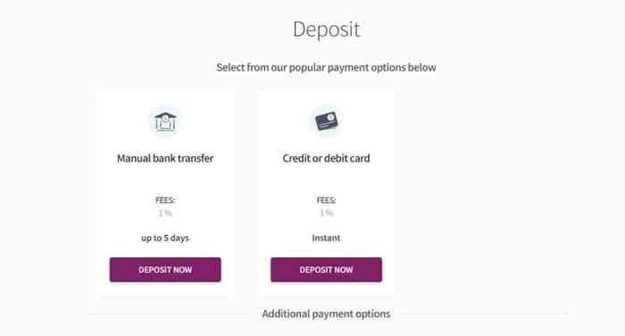 deposit with skrill