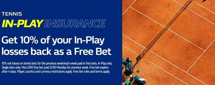 william hill in-play tennis bonus