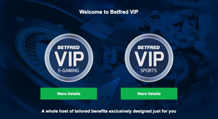 Betfred VIP Program