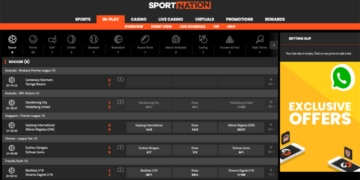 Live Betting with Sportnation