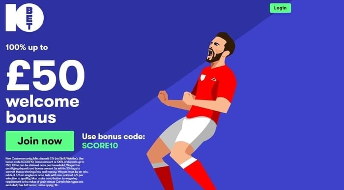 10bet-new-customer-welcome-offer