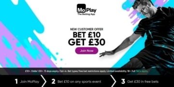 moplay new customer welcome offer