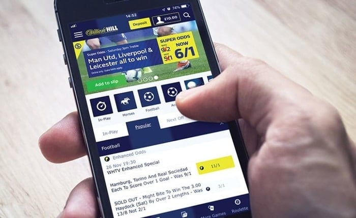 william hill mobile betting app