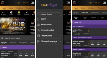 BetRegal Mobile App