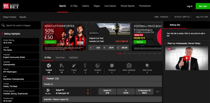 MansionBet Sportsbook