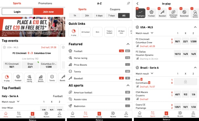 Virgin Bet Mobile App