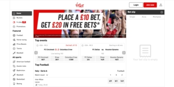 Virgin Bet Sportsbook