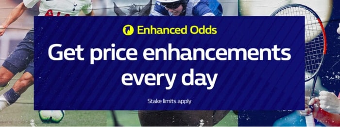 William Hill Enhanced Odds Promotion