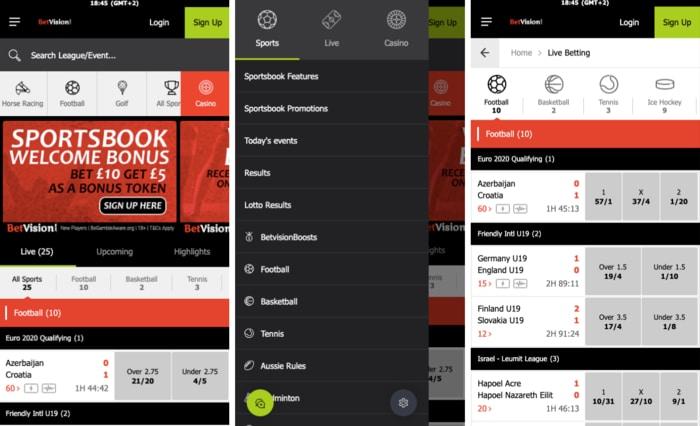 BetVision Mobile App