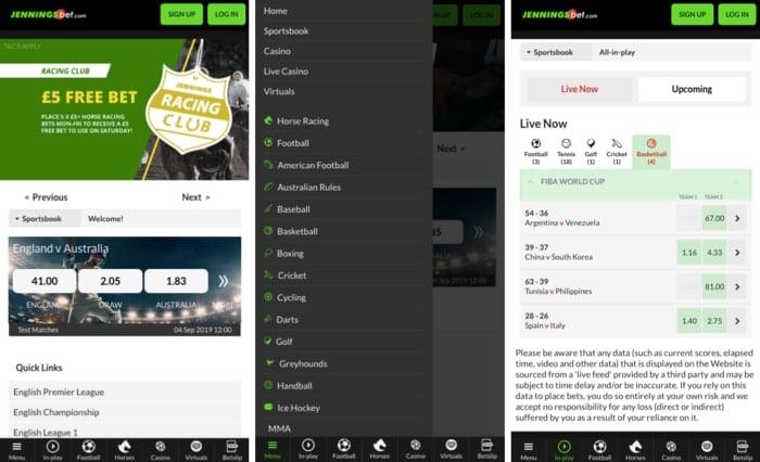JenningsBet Mobile App