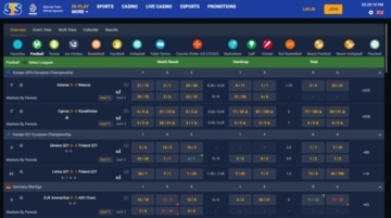 Live Betting with STSBet