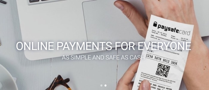 online payments with paysafecard