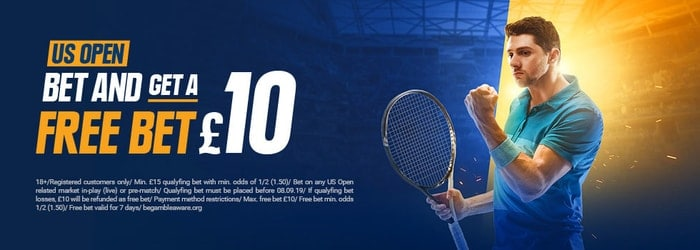 STSBet US Open Free Bet Promotion