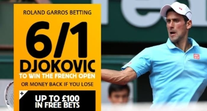 betfair french open betting promotion