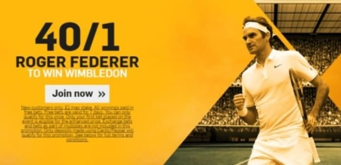 betfair wimbledon tennis enhanced odds