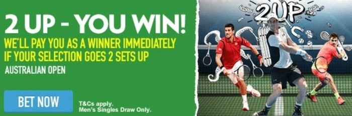 paddy power australian open betting promotion