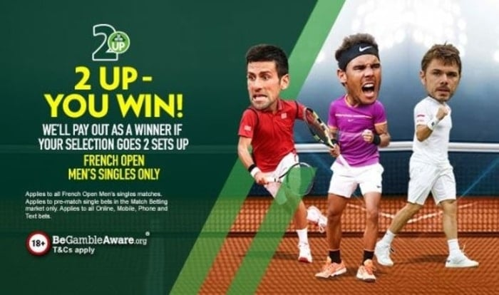 paddy power french open betting promotion