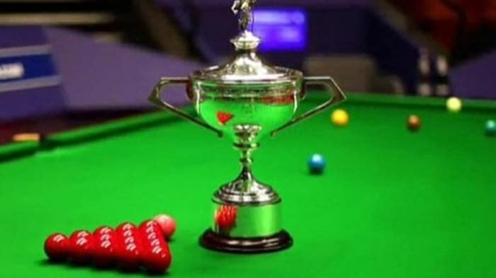 snooker world championship trophy