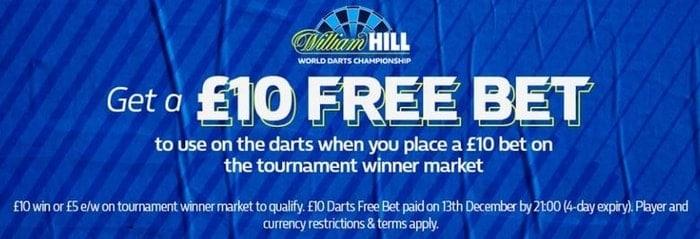 william hill world darts championship promotion