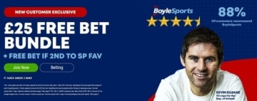 boylesports new customer welcome bonus offer
