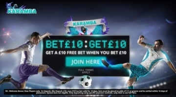 karamba sports welcome promo