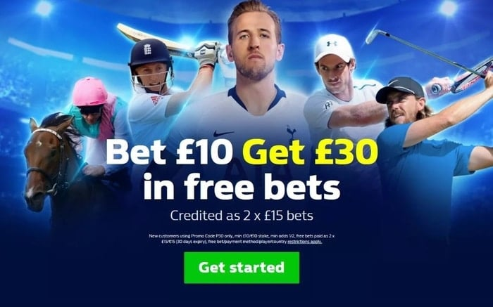 william hill new customer welcome bonus offer