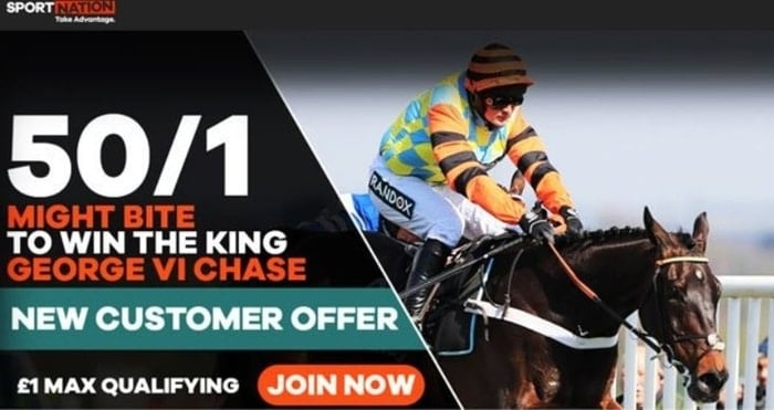 sportnation horse racing new customer welcome offer