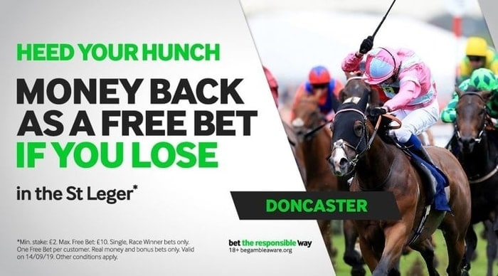 betway st leger money back special