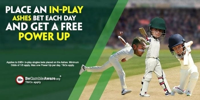 paddy power in-play ashes betting offer