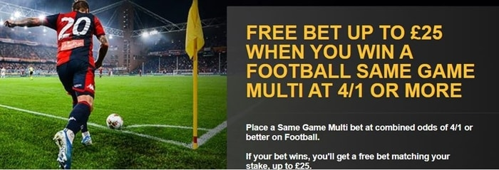 betfair football multi bet promo