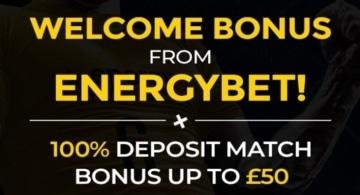 energybet new customer welcome bonus