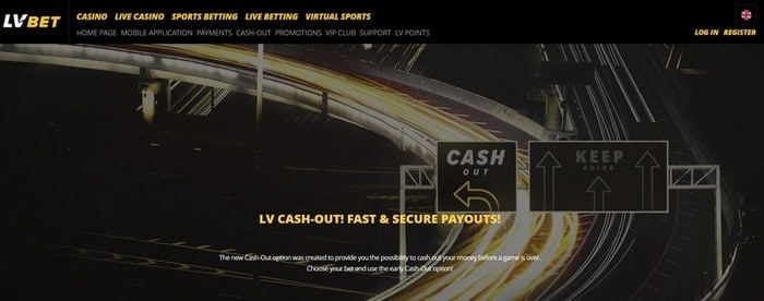 lv bet cash out