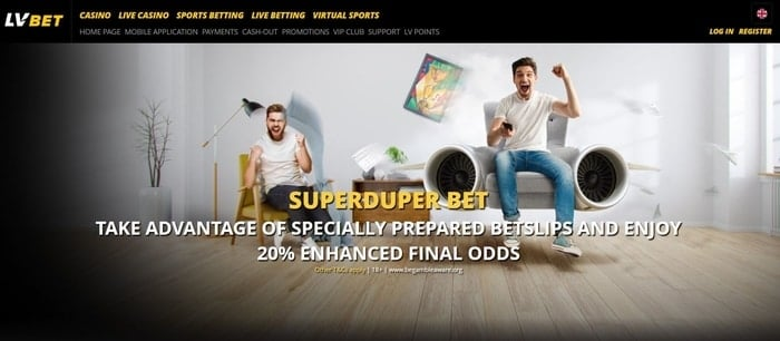 lv bet superduper bet promotion