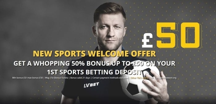 lv bet sports new customer welcome offer