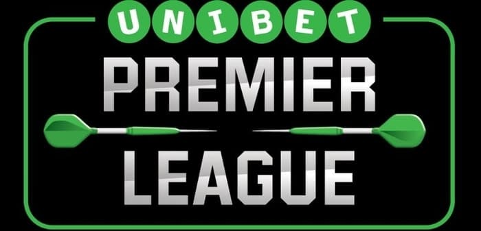 premier league darts with Unibet