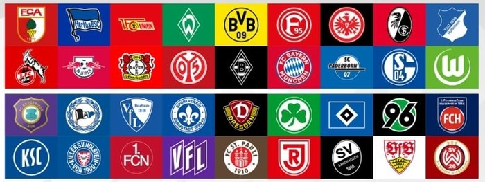 bundesliga teams in 2019 2020 season