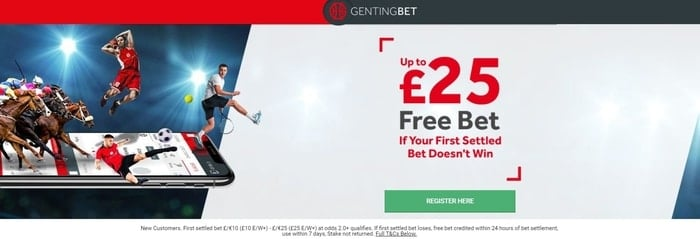 gentingbet welcome bonus off for new customers