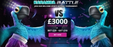 karamba sports welcome bonus offer for new UK customers