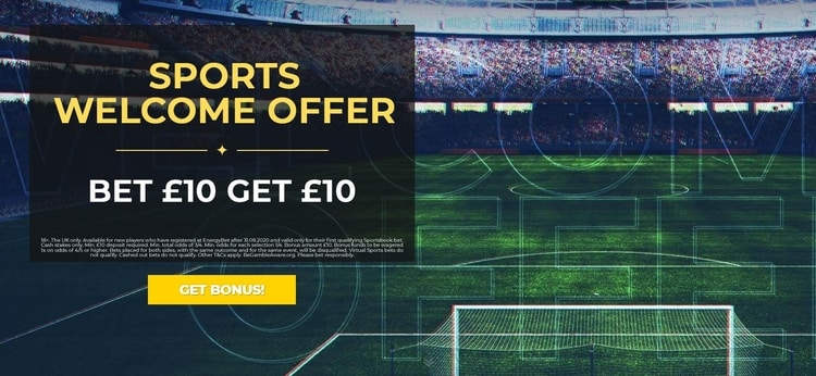 energybet welcome offer for new customers