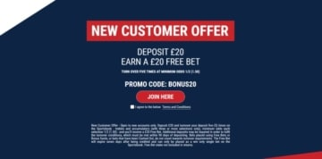 marathonbet welcome offer for new sports customers